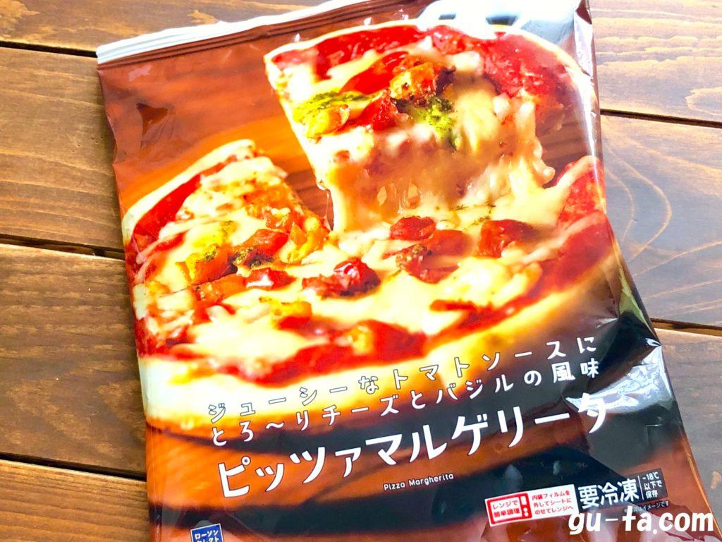 ローソンのロカボ商品『ピッツァマルゲリータ』の商品概要