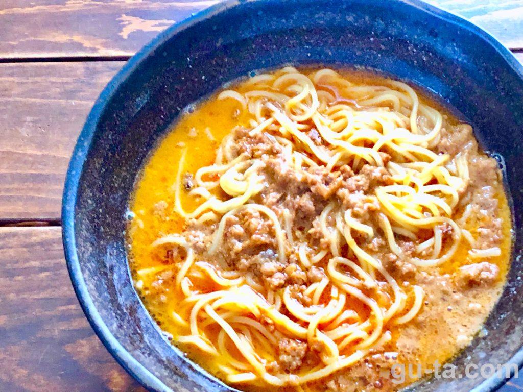成城石井の冷凍担々麺レビュー