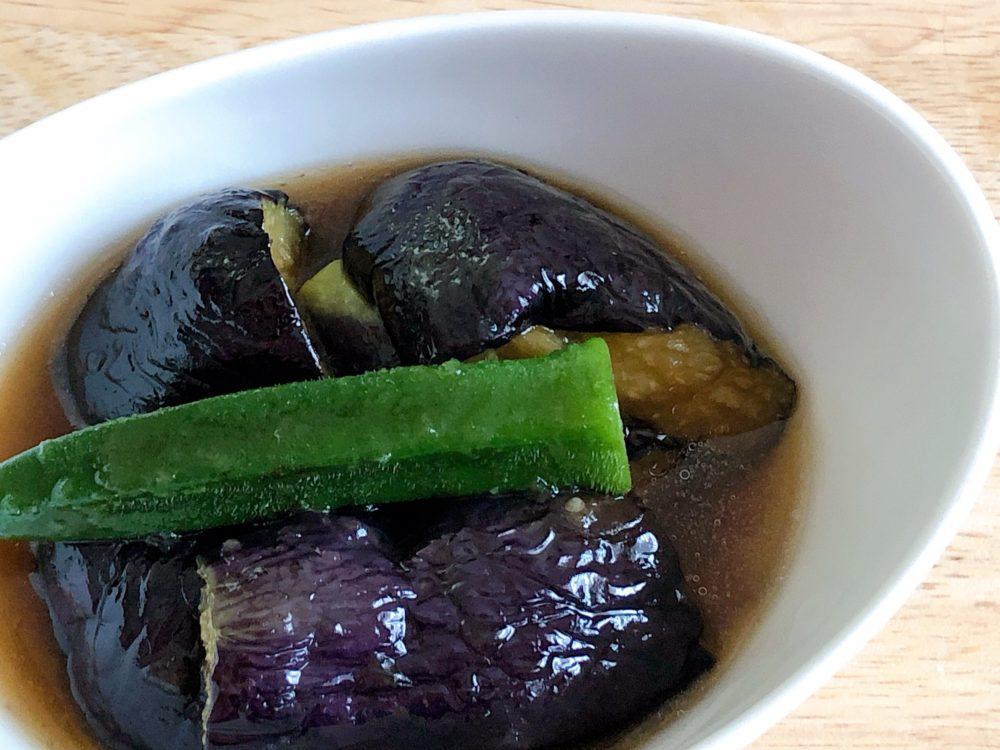 セブンイレブンの冷凍食品『なすの揚げびたし』はなすがとろとろで絶品
