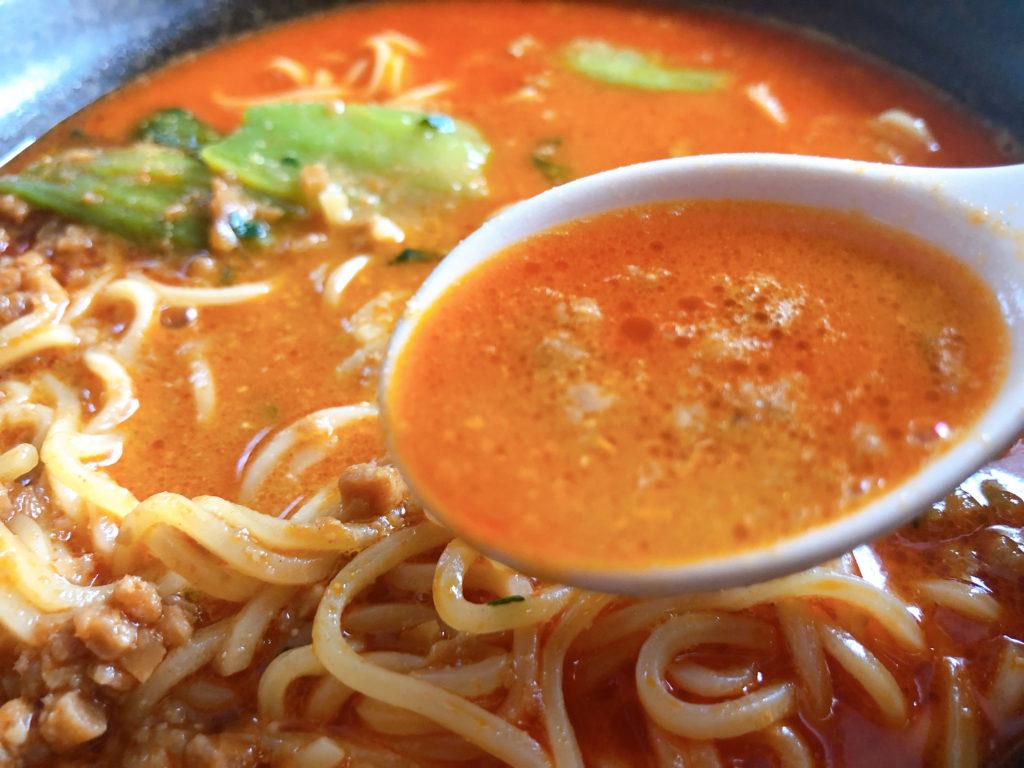 濃厚だけどサラッとしたスープ